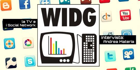 WIDG Social Network intervista Andrea Materia