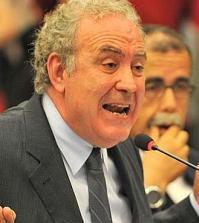 Il giornalista Michele Santoro