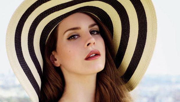 La cantante Lana Del Rey alle Invasioni barbariche