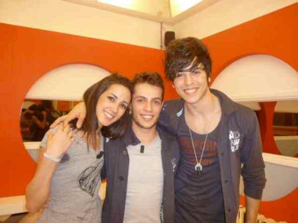 Amici 2012 i tre ballerini finalisti Francesca, Nunzio e Giuseppe