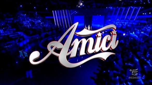 Foto del logo di Amici 11 terza puntata