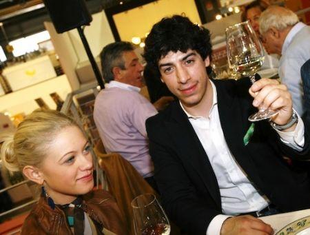 Eliana Cartella e Renzo Bossi, ai tempi della loro relazione