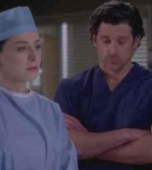 Derek Sheperd e sua sorella Amelia Grey's Anatomy 8
