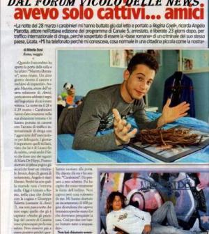 Foto Angelo Marotta intervista
