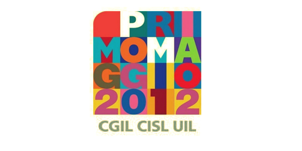 logo concerto primo maggio 2012 cgil cisl uil
