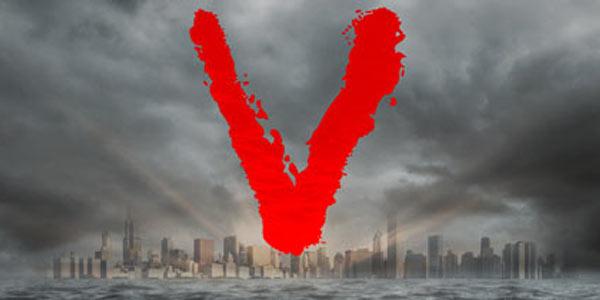 V - Visitors, il logo