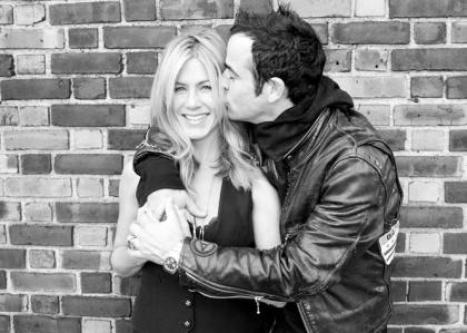 Jennifer Aniston e Justin Theroux a Roma