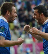 Antonio Cassano e Antonio Di Natale