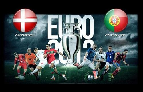 Foto Danimarca - Portogallo Euro 2012