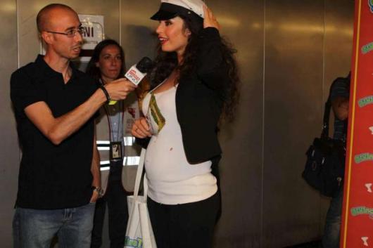 Raffaella Fico incinta di Mario Balotelli