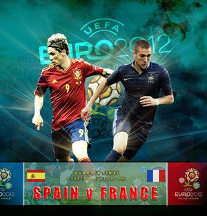 foto spagna francia euro 2012