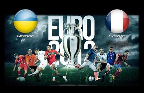 Foto Ucraina - Francia euro 2012