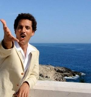 l'attore Beppe Fiorello