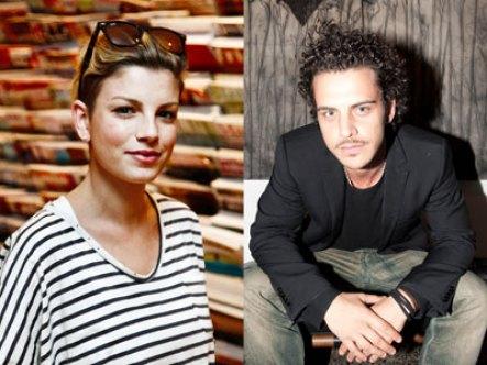 Emma Marrone e Andrea Montovoli:foto del bacio