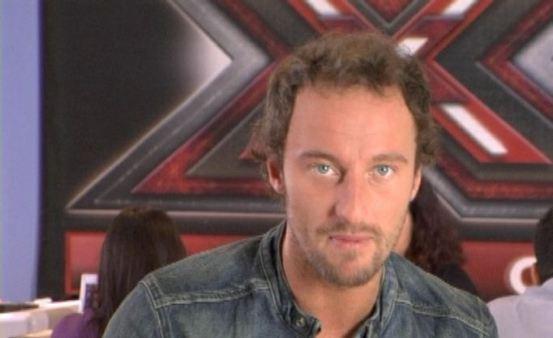 Foto di Francesco Facchinetti a X Factor