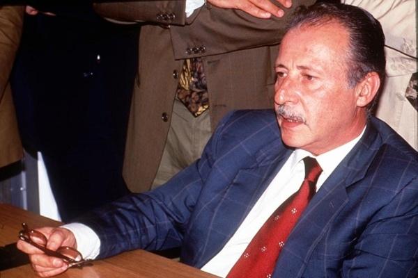 Paolo Borsellino prima della morte