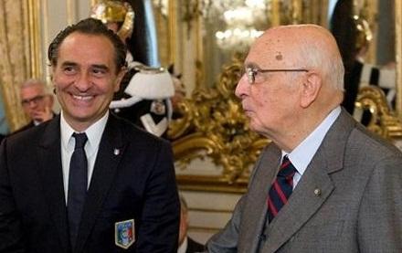 Euro 2012, Napolitano scrive agli Azzurri, Prandelli ringrazia