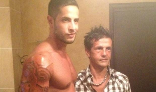Il nuovo tatuaggio di Gionatan GIannotti