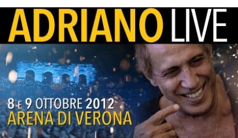 Celentano all'arena di Verona con Morandi e Dario Fo
