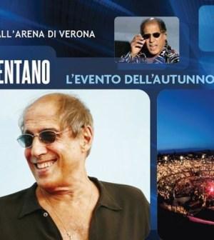 Celentano, live all'Arena di Verona
