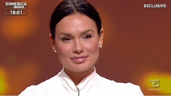 Nicole Minetti a Domenica Live: intervista