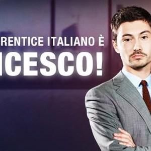 francesco menegazzo the apprentice vincitore cielo