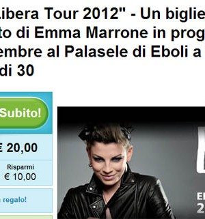 emma marrone concerto groupon