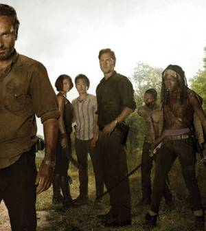 foto cast the walking dead 3