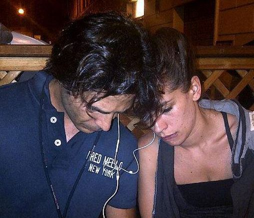 Marco Bocci e Giulia Michelini