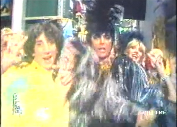 Lucio Presto nel video di Renato Zero