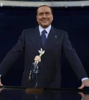 Berlusconi da Bruno Vespa