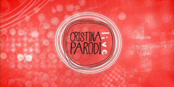 cristina parodi live logo rosso