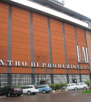 Foto del centro di produzioni Rai Via Teulada 66