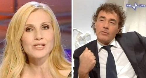 Massimo Giletti e Lorella Cuccarini