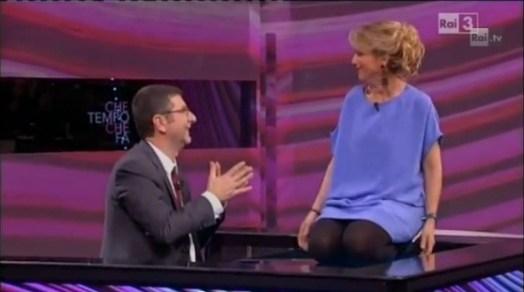 Luciana Littizzetto contro Berlusconi a Che tempo che fa