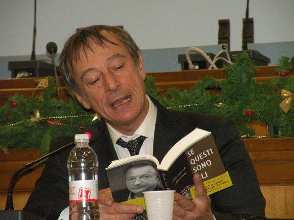 Riccardo Iacona giornalista di Presadiretta