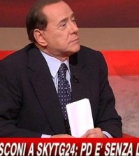 Berlusconi a Sky Tg24