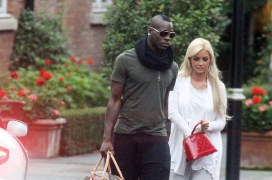 Mario Balotelli e Holly Henderson