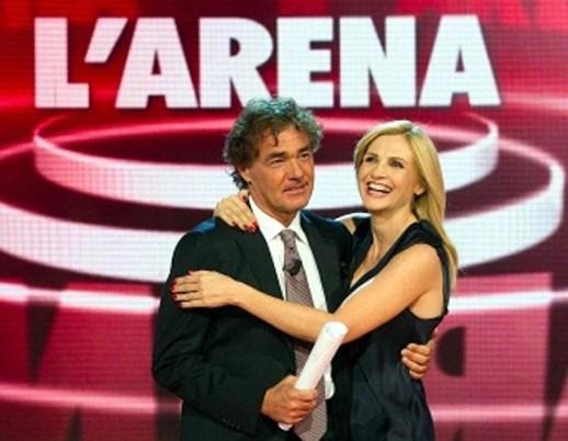 Massimo Giletti e Lorella Cuccarini domenica in