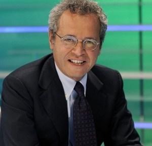 Enrico Mentana ospite a Le Invasioni Barbariche