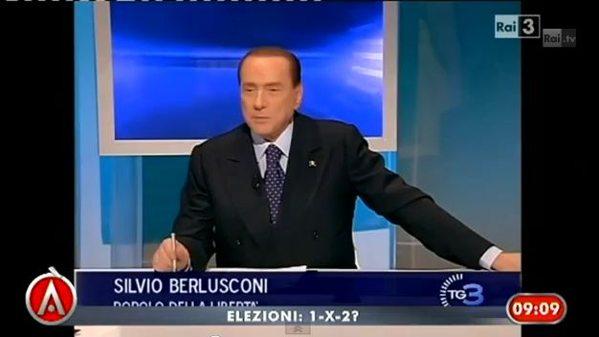 Silvio Berlusconi attacca i pm