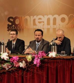 Foto conferenza stampa Sanremo 2013 14 febbraio