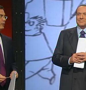 Silvio Berlusconi ospite di Ballarò