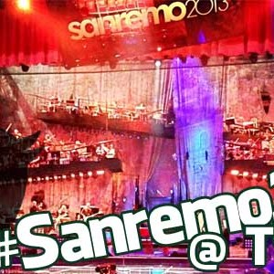 Foto di Sanremo 2013 visto da Twitter