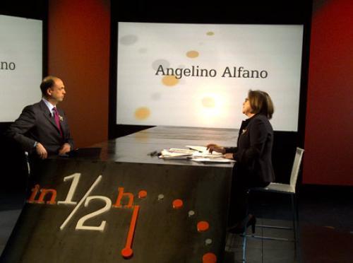 In mezz'ora: lite Alfano-Annunziata