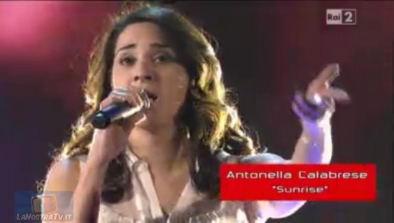 Foto di Antonella Calabrese The Voice of Italy