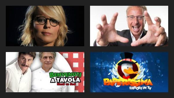 Foto palinsesto maggio 2013 Canale 5