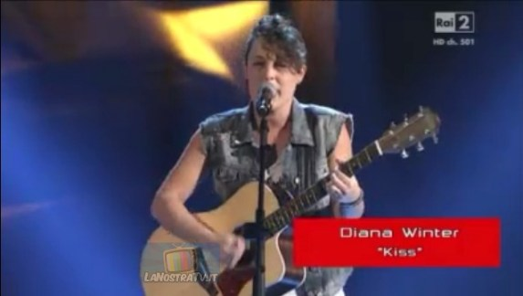 Foto di Diana Winter The Voice of Italy