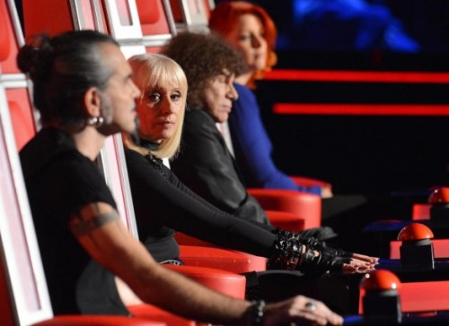 foto dei coach di the voice of italy