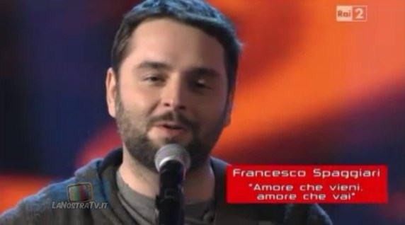 Foto di Francesco Spaggiari The Voice of Italy